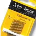 John-James-Embroidery-Needle