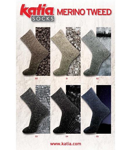 Merino Tweed Socks