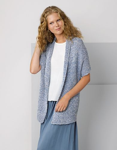 Book Woman Casual 88 Spring _ Summer _ 14_ Woman Jacket _ Blue